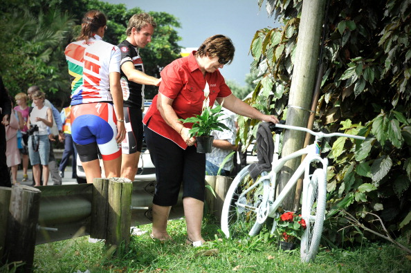 South African Cyclist Burry Stander Memorial Ride